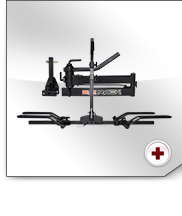 Includes the ingenious EZRACK swivel system and the SportRack 2EZ bike support for up to 2 bikes.